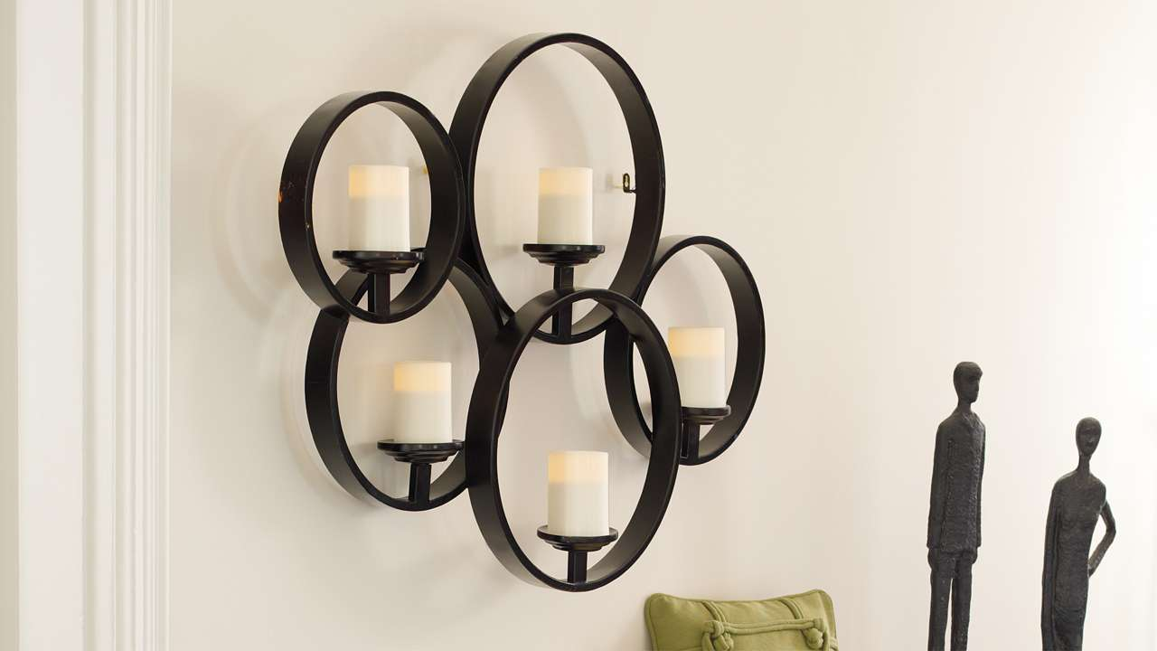 Candle holders everything a home desires - Decorative wall scones ...